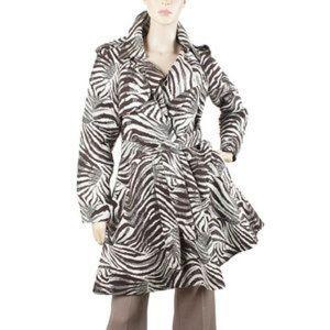 Limited edition Lanvin X H&M zebra trench coat